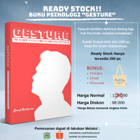 Buku Psikologi : Gesture - The Secret of Body Language