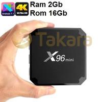 TV BOX X96 Mini 4K Ram 2GB ROM 16GB Android 7.1