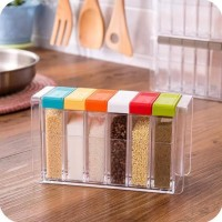 New 6 in 1 TEMPAT RAK BUMBU - SEASONING SET