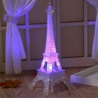 Lampu Tidur LED Lampu Dekorasi Paris Unik