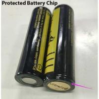 Baterai 18650 3,7V UltraFire Chip Proteksi Flat Top 6000mah