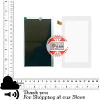 LCD + Touchscreen Tab Evercoss Jump S S1 AT7E Layar Original Evercross