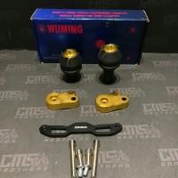 Plindung Slider Knalpot Wuming Yamaha Nmax Gold