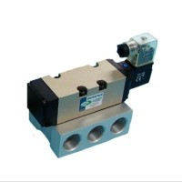 SOLENOID VALVE ISO 5 PORT 2 POSITION DRAT 0.5 INCH 220VAC SINGLE COIL