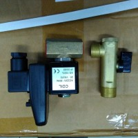 Solenoid Valve Auto Drain 2 Lubang 2 Positions Plus Timer OPT-T Drat