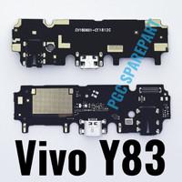 Papan Konektor Charger Handsfree MIC Vivo Y83 Connector Cas Jack Audio