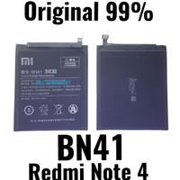 Baterai Original 99% BN41 Redmi Note 4 - BN-41 Batre Batere Baterei