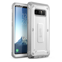 Case Galaxy Note 8 SUPCASE Unicorn Bettle Pro Belt Holster Ori - White