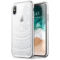 Case iPhone X/XS i-BLASON Halo Hybrid Series Original - Lace White