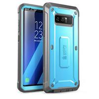 Case Galaxy Note 8 SUPCASE Unicorn Bettle Pro Belt Holster Ori - Blue