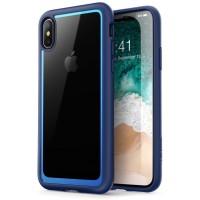Case iPhone X/XS i-BLASON Halo Hybrid Series Original - Blue