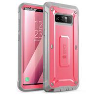 Case Galaxy Note 8 SUPCASE Unicorn Bettle Pro Belt Holster Ori - Pink