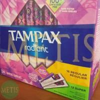 TAMPAX Radiant Duo-Pack 28 pcs