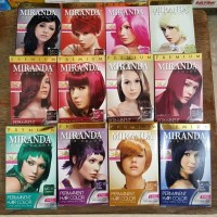 Miranda Hair Color - Semir Rambut 30 ml