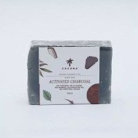 Cocona Care Natural Soap Bar - Activated Charcoal 100 gram