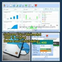 Software Minimarket - Kasir Toko Original Unlimited Free Ongkir
