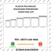CETAK PLASTIK POLYMAILER / CETAK HD POLYMAILER / PLASTIK ONLINE SHOP