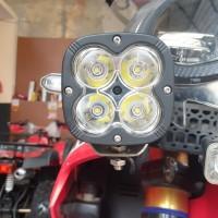 Lampu sorot ato lampu led untuk semua motor trail