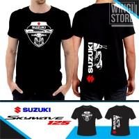 kaos Suzuki Skywave 125 sablon plastisol