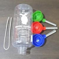 Deluxe Bottle 500ml Botol Minum Kelininci Marmut