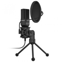 YANMAI SF-777 Condeser Microphone with Pop Filter and Tripod Stand