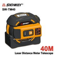 SNDWAY SW-TM40 - Multi Measuring Tape 5M and Laser Distance Meter 40M
