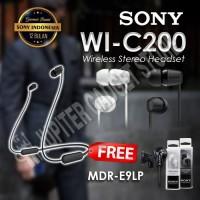 Sony MDR WI-C200 / WI C200 Wireless Bluetooth Headphones - ORIGINAL