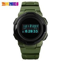 SKMEI Jam Tangan Digital Pria Sport Watch OLED - 1439 Hijau Army