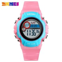 SKMEI Kids Jam Tangan Digital Anak - 1477 Pink Biru
