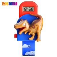 SKMEI Jam Tangan Anak Model Dinosaurus Tyrannosaurus - 1468 Biru