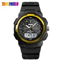 SKMEI Jam Tangan Analog Digital Pria - 1454 Gold