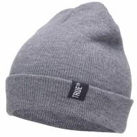 TRUE Topi Kupluk Rajut Beanie Hat Gray