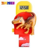 SKMEI Jam Tangan Anak Model Dinosaurus Tyrannosaurus - 1468 Merah