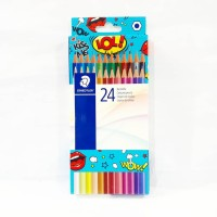 COLOURED PENCILS STAEDTLER 24C / PENSIL WARNA STAEDTLER 24C