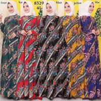Baju Gamis Wanita Terbaru Gamis Batik Busui Jumbo Jersey Korea 4L 8329