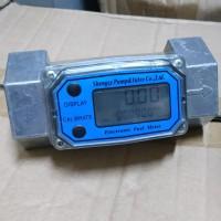 "SHM Electronic Turbine Flow Meter DN 40 / 1 1/2"""