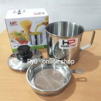 Oil Pot / Wadah saringan minyak 12cm