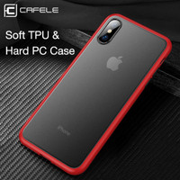 Cafele iPhone X / XS / XR / XS Max - Shadow Translucent Slim Case