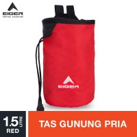 Eiger Chalk Bag Tripoint Modif 6294 - Red