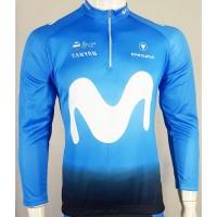 baju Jersey sepeda moviestar biru-jersey sepeda gowes