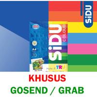 Kertas HVS Berwarna A4 SIDU 70 gram (KHUSUS GOSEND/GRAB)
