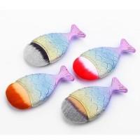 3D RAINBOW MERMAID FISHTAIL FISH FOUNDATION CONTOUR BLUSH MAKEUP BRUSH