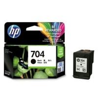Tinta HP 704 Black Ink Cartridge - For 2010, 2060 / Black Original