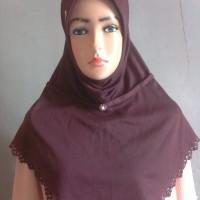 Kerudung jilbab instan rabbani preloved second bekas mulus
