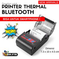 Printer thermal mini portable dengan bluetooth