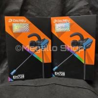 Dareu EH728 pro Gaming Earphone W/ Double Microphone Garansi Resmi 1th