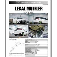 Knalpot HKS LEGAL Honda Yaris 2019