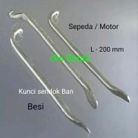 Kunci Sendok ban besi (3pcs) 9 x 200mm motor & sepeda
