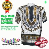 Harga kaos terbaru baju etnik dashiki hippies boho batik warna putih   antitipu.com