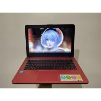 Laptop murah banget ASUS X441S - RAM 2GB - HDD 500GB LIKE NEW FULLSEET